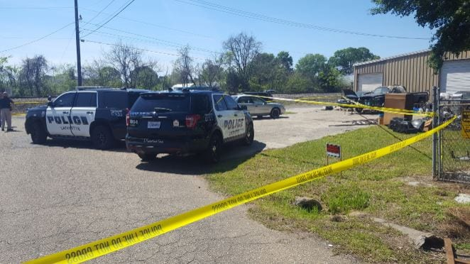 Body of a woman found in Lafayette. Police investigation the death as suspicious. March 22, 2019 (PHOTO: KATC)