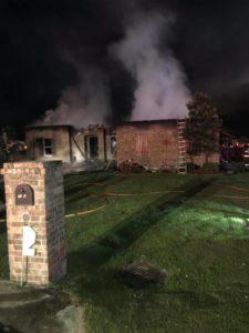 Maurice House Fire
