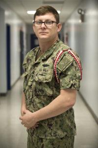 Petty Officer 1st Class Cory Arabie (Photo by Mass Communications Specialist 2nd Class Brad Gee)