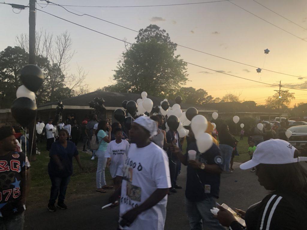 vigil for Sunset shooting victim Kendrick Lawrence