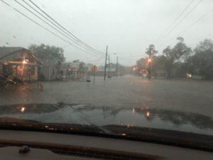 Lake Arthur flooding
