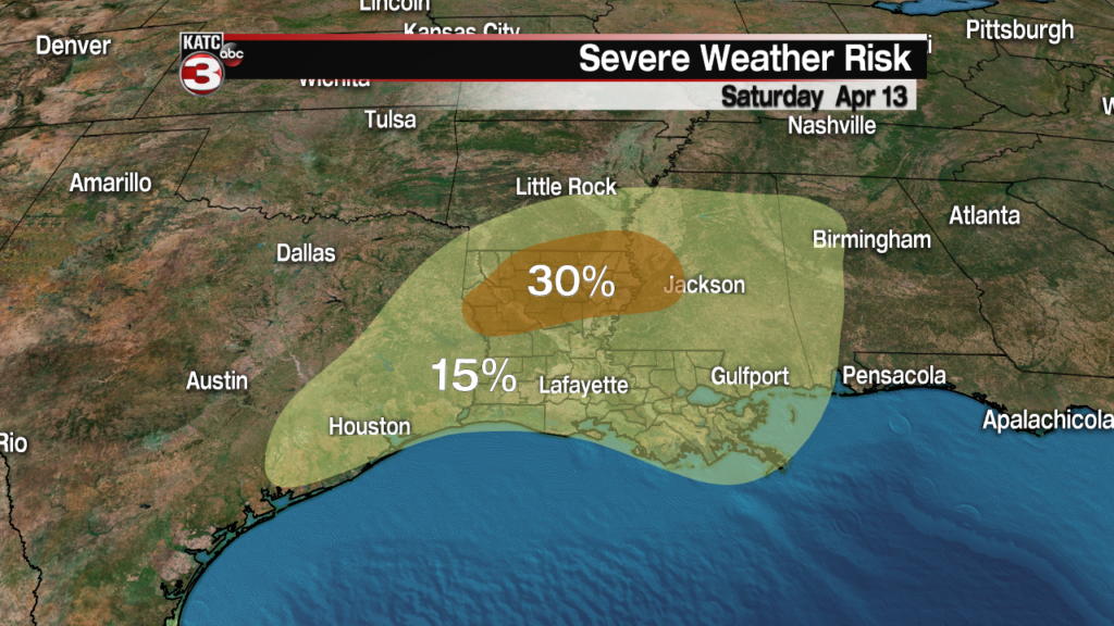 Breakdown of the next round of severe weather
