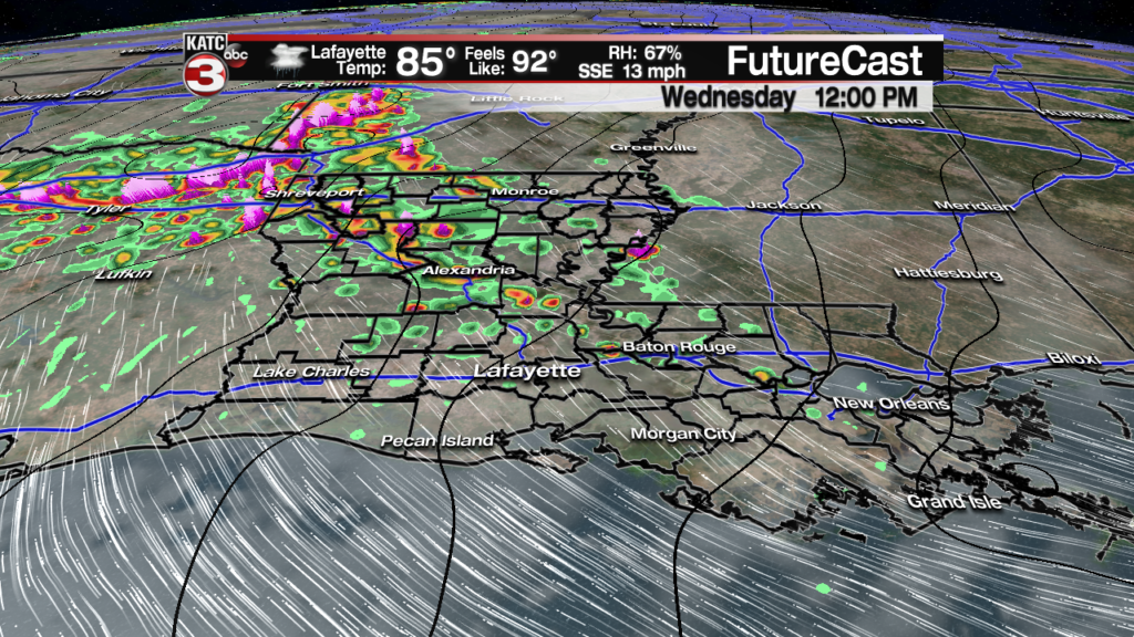 Strong, soaking storms increase into the weekend
