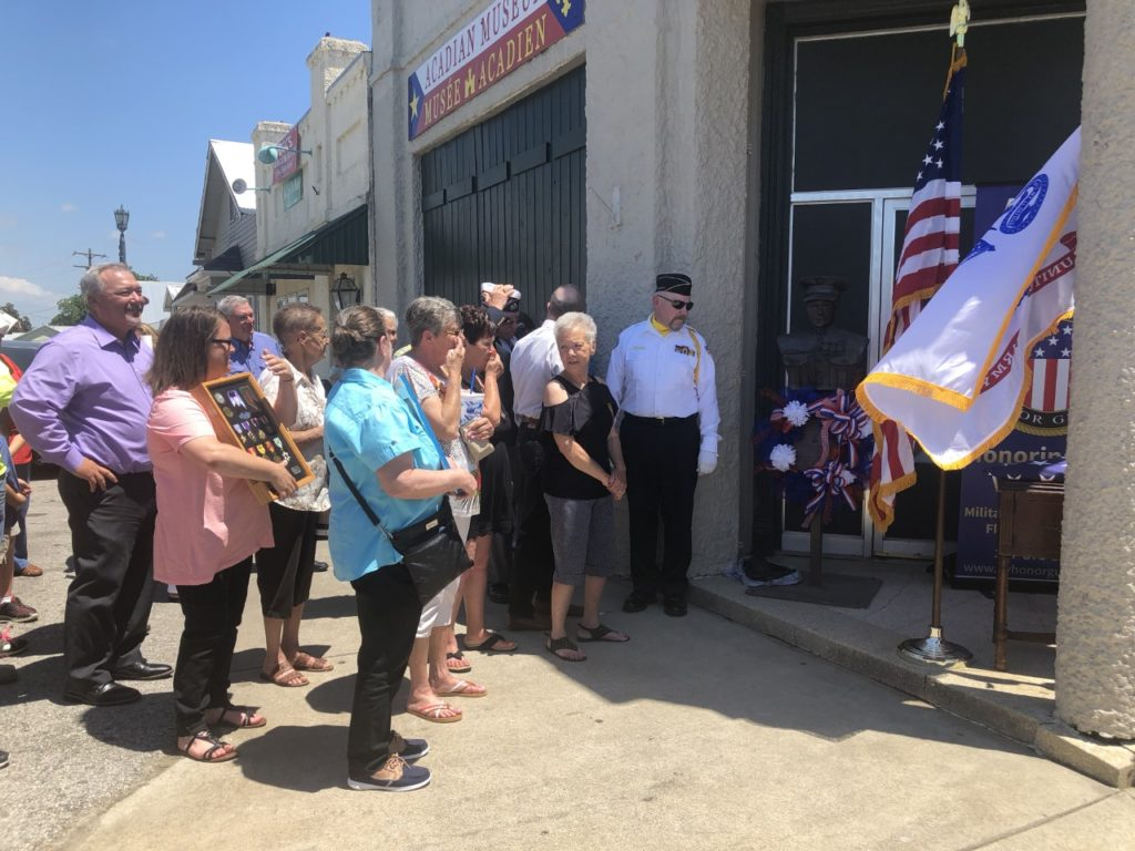 On May 24, 2019, the Acadian Museum hosted a Memorial Day event. (Photo: KATC)