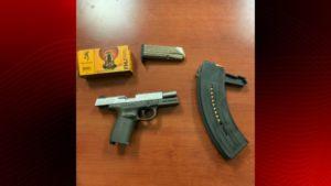 Opelousas illegal firearm
