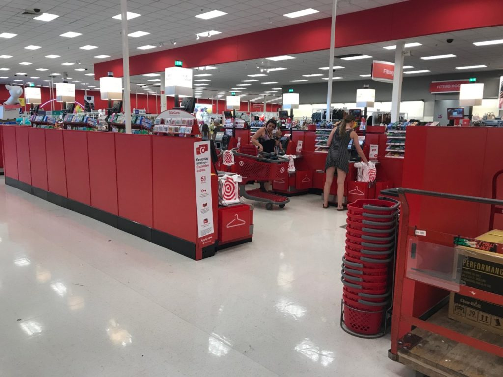 UPDATE: Registers now working at both Lafayette Target locations
