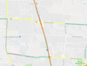 Two crashes close outside lanes of I-49 in Carencro