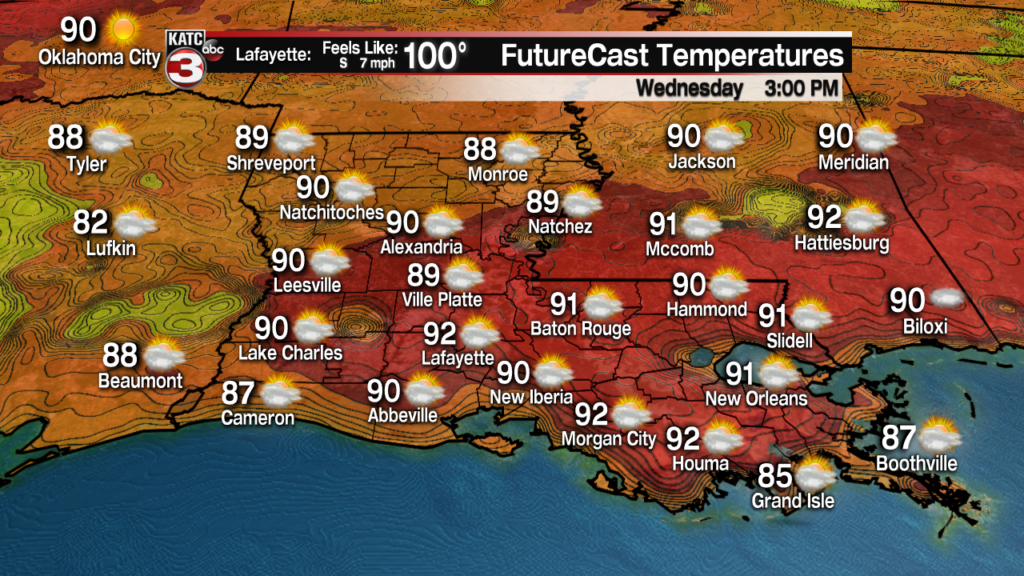 Fewer storms, more heat and haze