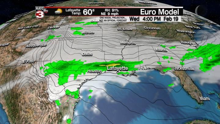 European Model Forecast Day 2