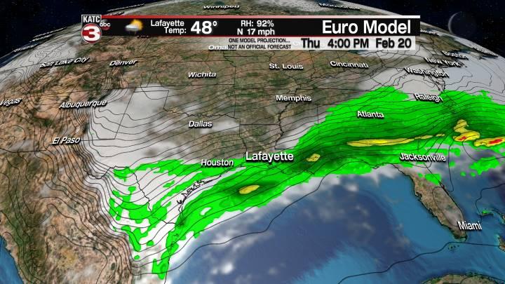 European Model Forecast Day 3