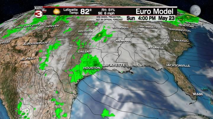 European Model Forecast Day 4