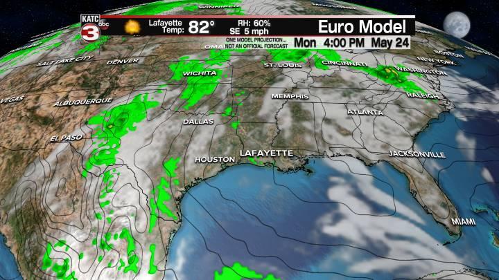 European Model Forecast Day 5