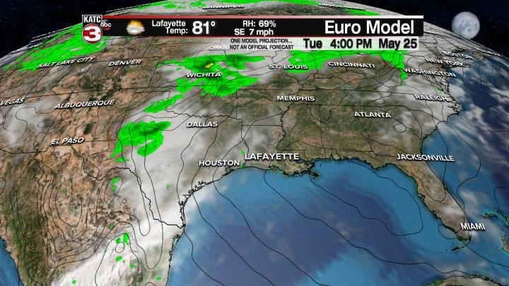 European Model Forecast Day 6