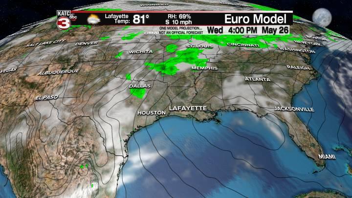 European Model Forecast Day 7