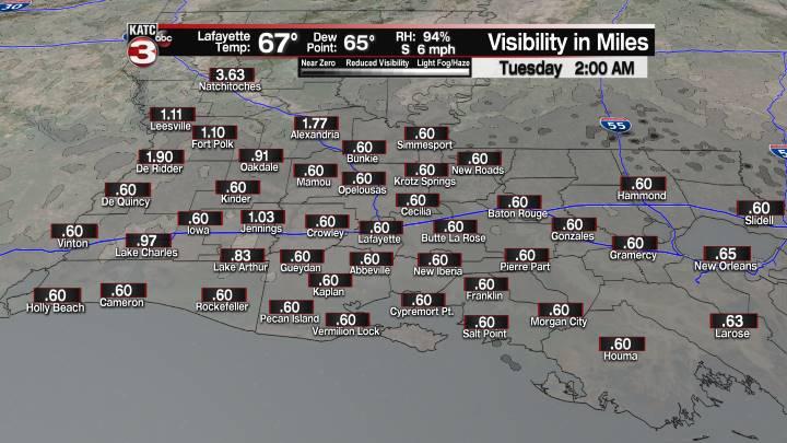 Fog Forecast 2 am