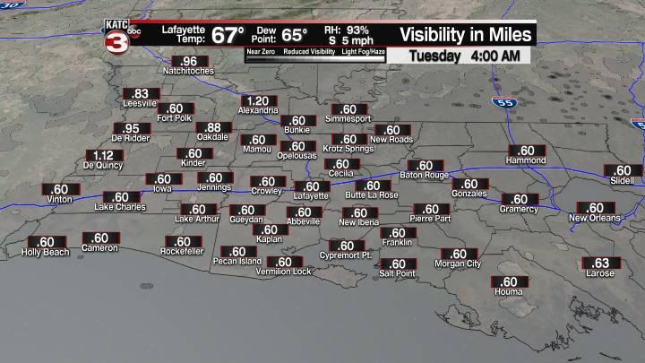 Fog Forecast 4 am