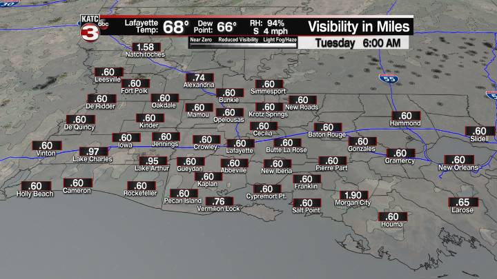 Fog Forecast 6 am