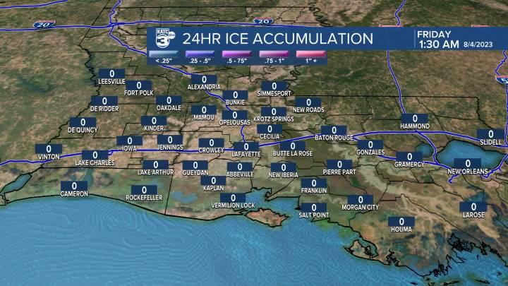 Local Ice Accumulation
