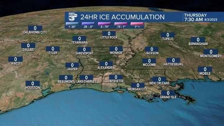 Regional Ice Accumulation