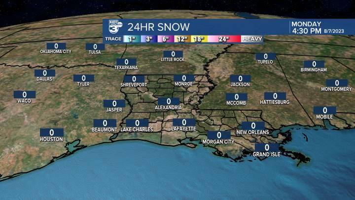 Regional Snow Accumulation